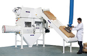 automatic sack discharging system PALAMATIC