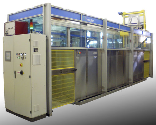 automatic ultrasonic cleaning - degreasing machine PLURITANK NOVATEC srl - Surface Finishing Technology