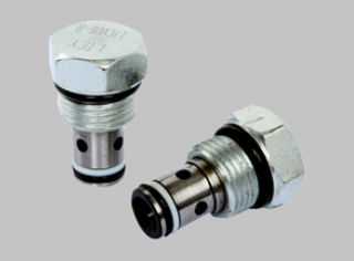 ball type hydraulic cartridge check valve 250 bar | LTCV-B-8 series Ningbo Longteng Hydraulic Components Co.,Ltd.