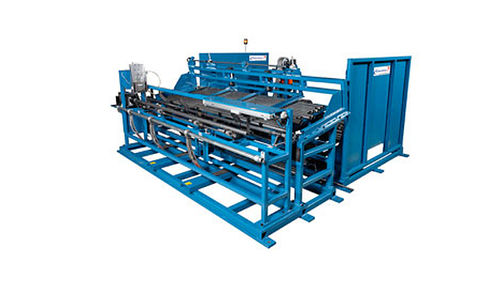 bar and tube bundle strapping machine max. 3000 mm | De-Bundler  AddisonMckee