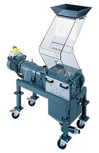beside-the-press plastic granulator max. 25 rpm | SCREENLESS Hosokawa Polymer Systems