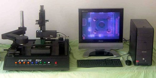 BGA rework station SMD-IR SMT MAX
