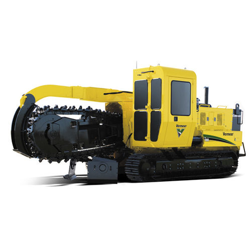 bucket wheel trencher 250 hp | T655 Vermeer Manufacturing