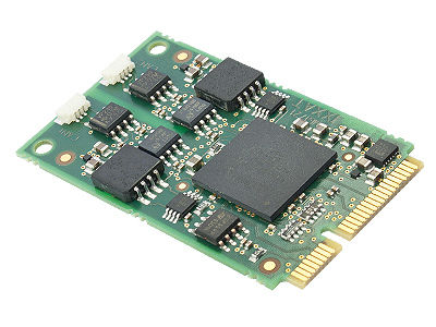CAN - mini-PCI Express interface card 1 - 2 CAN | CAN-IB120/PCIe Mini IXXAT Automation