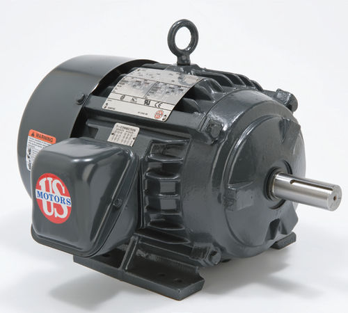 cast iron frame three-phase asynchronous electric motor Emerson Motors