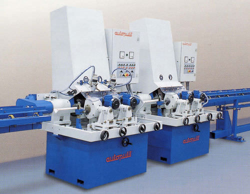 centerless belt grinding-polishing machine for bars and tubes CT-III AUTOPULIT