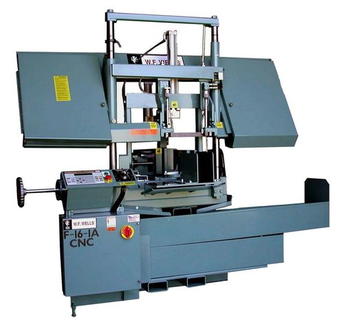 CNC automatic dual column horizontal band saw F-16-1A CNC  WF Wells Inc