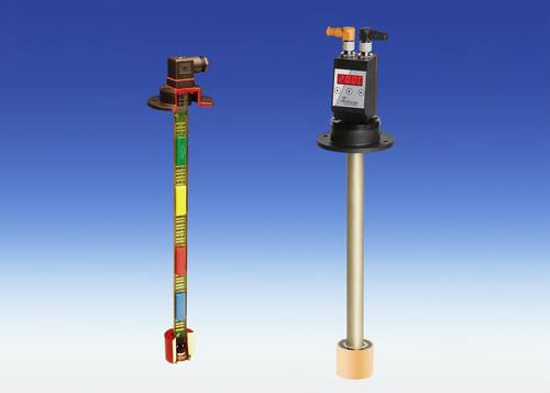 combination sensor: float level switch and temperature sensor (Pt100) Bühler Technologies