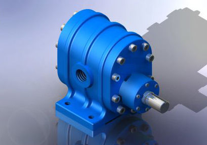 "compact lubrication gear pump 1 - 7.7 m³/h, 40 bar | YMD - 1½"" series Yildiz Pompa ve Mak. San. Tic. Ltd. Sti."