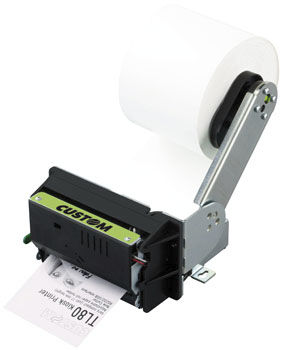 compact portable thermal transfer printer 80 mm, 130 mm/s | TL80 CUSTOM ENGINEERING SPA