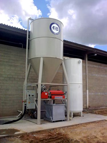 compact wastewater treatment plant FB/2300V-WD FRACCAROLI & BALZAN spa
