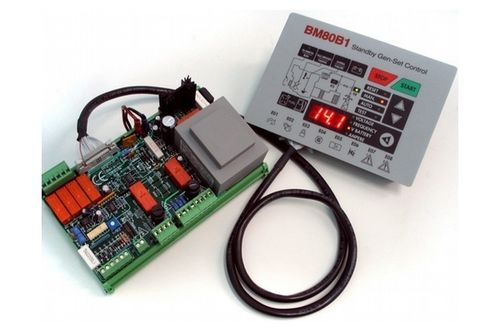 control module for generator sets 150 - 200 V, 46 - 64 Hz | BM80 bernini design srl