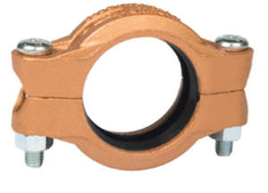 copper rigid grooved end pipe coupling DN 50 - 200 | 672 series Grinnell