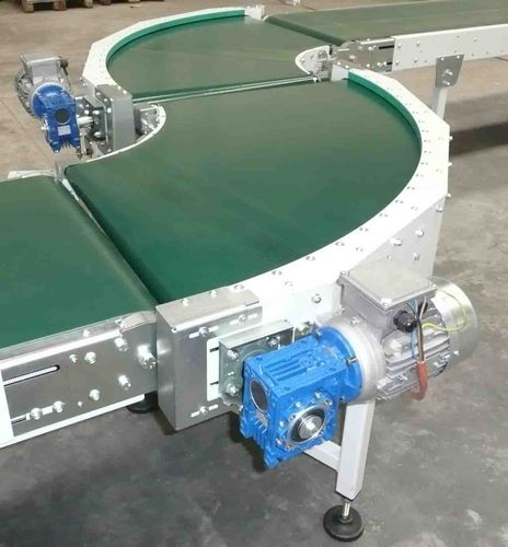 curved belt conveyor TCNRUCI OMT BIELLA