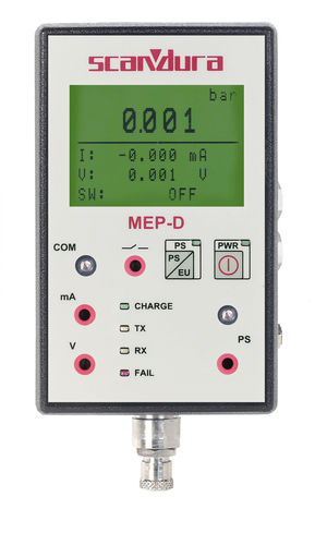 digital pressure calibrator 1 - 700 bar | MEP-D SCANDURA & FEM
