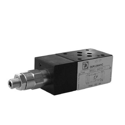 direct operated pressure relief valve 75 l/min, 350 bar | MCD Duplomatic Oleodinamica