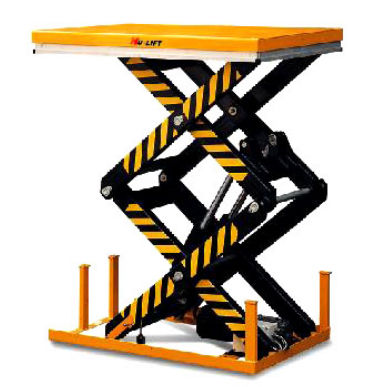 double scissor lift table 1 000 - 4 000 kg | HD series HU-LIFT