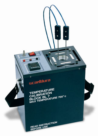dry-block temperature calibrator -50 - 1100 °C | BL series SCANDURA & FEM