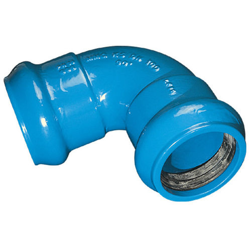 ductile cast iron elbow fitting DN 63 - 450, 90° | MMQ-KS Frischhut
