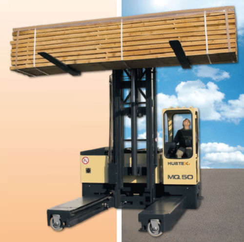 electric 4-way side loader forklift truck 3 - 4.5 t, 3 000 - 10 000 mm | 2130 series HUBTEX