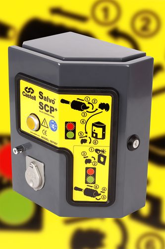 electric door controller with key lock switch SCP+ CASTELL SAFETY INTERNATIONAL