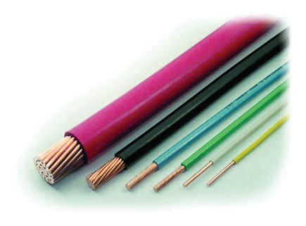electric power distribution cable: copper core 600 V | KS22641 series Lineage Power