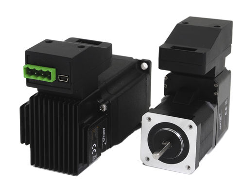 electric stepper motor with integrated controller RS-485 / USB | DMX-UMD Arcus Technology