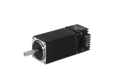 electric stepper motor with integrated controller RS-485 | DMX-K-SA-11 Arcus Technology