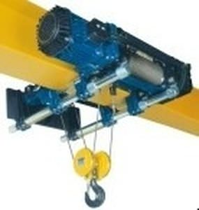 electric wire rope hoist with low headroom trolley max. 20 000 kg  | DRH series DONATI SOLLEVAMENTI