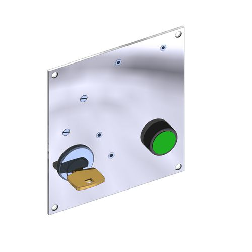 electromagnetic security lock 8.5 W, IP00 | C30 NAFSA