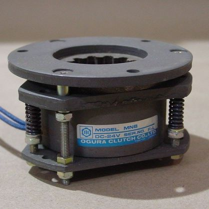 electromagnetic spring applied multi-disc brake 1.5 - 590 lb.ft (2 - 800 Nm) | MNB series OGURA