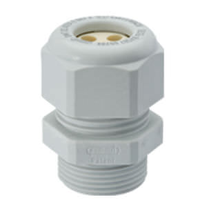 explosion proof multiple wire nylon cable gland IP68, - 20 - 69 °C | HSK-K-MULTI-Ex series  HUMMEL AG