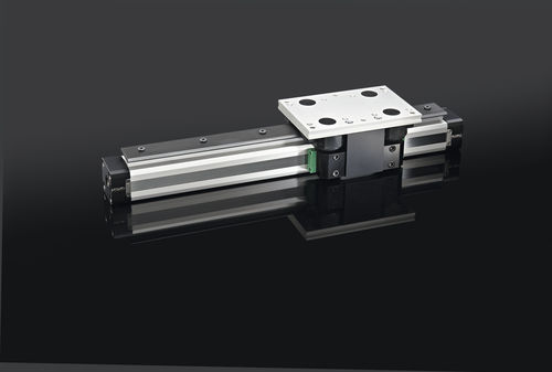 externally guided rodless pneumatic linear actuator PLR25 MEDAN