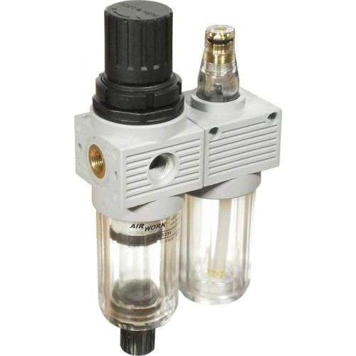 filter, regulator, lubricator for compressed air 260 Nl/min, max. 15 bar | XS0 series Airwork pneumatic equipment