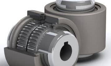 flexible coupling: gear coupling max. 20 700 Nm Power Jacks