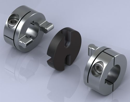 flexible coupling: Oldham coupling max. 0.08 - 59 Nm | Type UI, Oldham/Universal OEP Couplings