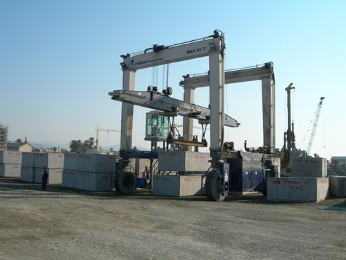 gantry crane for prefabrication sites MST 80 - 36 CIMOLAI TECHNOLOGY SpA
