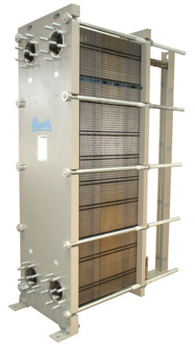 gasketed-plate heat exchanger max. 200 m&sup3;/h | SIGMA X-series API Schmidt-Bretten GmbH &amp; Co. KG