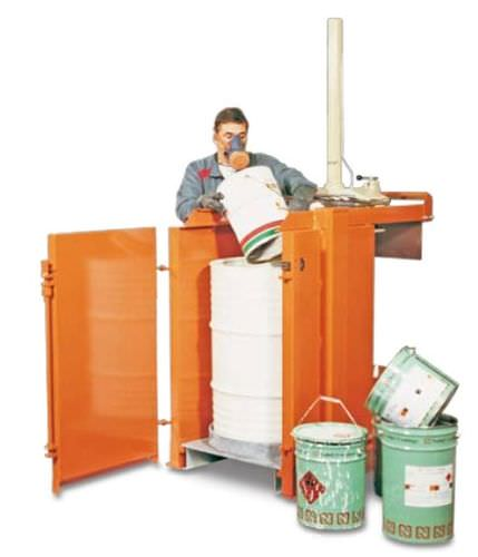 hazardous waste compactor 3 t, 30 kN | Orwak 5030-N HD ORWAK