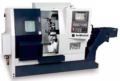 high performance CNC turning center max. ø 500 x 1 500 mm | TC-PerformanceLine Spinner
