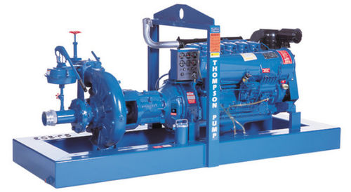 high pressure centrifugal pump max. 1 600 gpm, max. 200 psi | J, JC series Thompson Pump