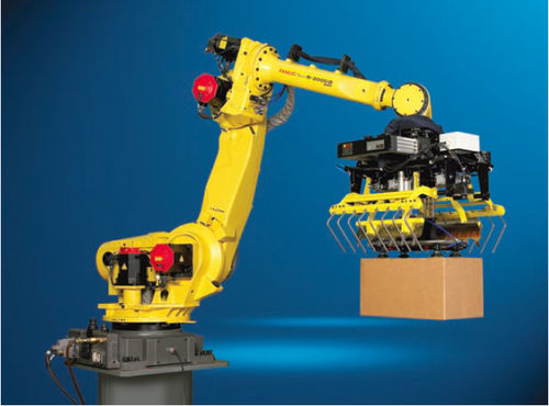 high speed articulated depalletizing robot max. 550 kg, max. 2655 mm, IP67 | R-2000iB/100H&amp;trade; FANUC Robotics