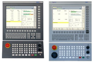 industrial panel PC with front keypad FS151 / FS152 NUM