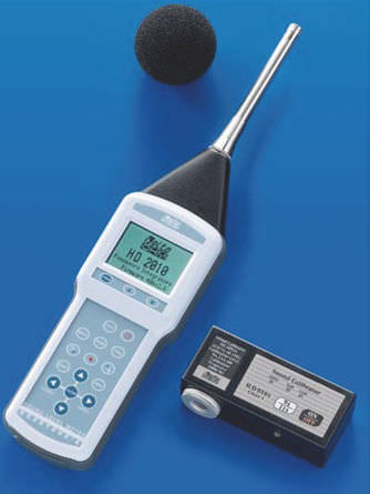 integrating sound level meter 94 - 114 dB | HD 2010 UC/A Delta Ohm