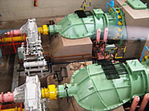 Kaplan hydraulic turbine max. 10 MW, max. 60 m Kirloskar Brothers Ltd.