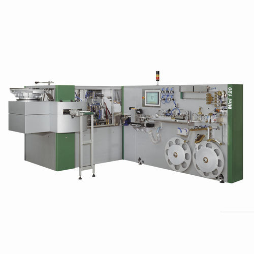 laminated tube production line max. 120 p/min | MINI 120 Packys Global