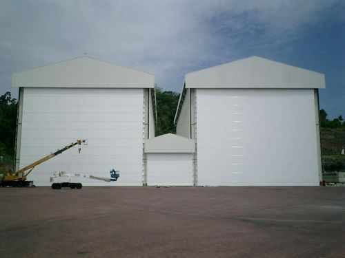large size industrial door Megadoor S1500 Crawford Group