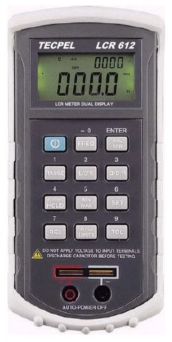 LCR meter max. 20 mF, 1000 H | LCR-612 Tecpel  Co., Ltd.