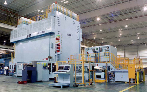 mechanical transfer press 300 - 4 000 t | TMX Aida