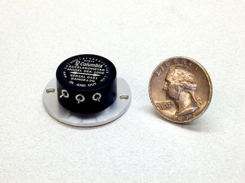 MEMS accelerometer &plusmn;2G / &plusmn;10G, 0 - 70 &deg;C | SSA-1000  Columbia Research Laboratories